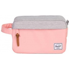 Herschel Supply Co Herschel Chapter Peach/Light Grey Crosshatch Toilettas