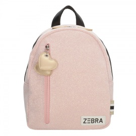 Zebratrends Backpack (S) Sparkle pink