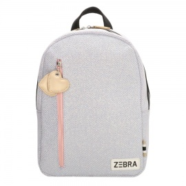 Zebratrends Backpack (M) Sparkle Purple