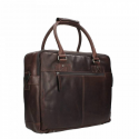 Chesterfield Leren Business Bag Bruin