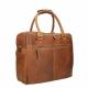 Chesterfield Leren Business Bag Cognac