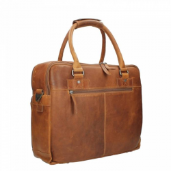Chesterfield Leren Business Bag Cognac