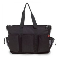 Skip Hop Luiertas Duo Double Signature Deluxe Black