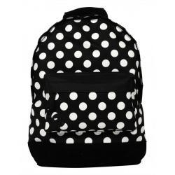 Mi-Pac Rugzak All Polka Black White