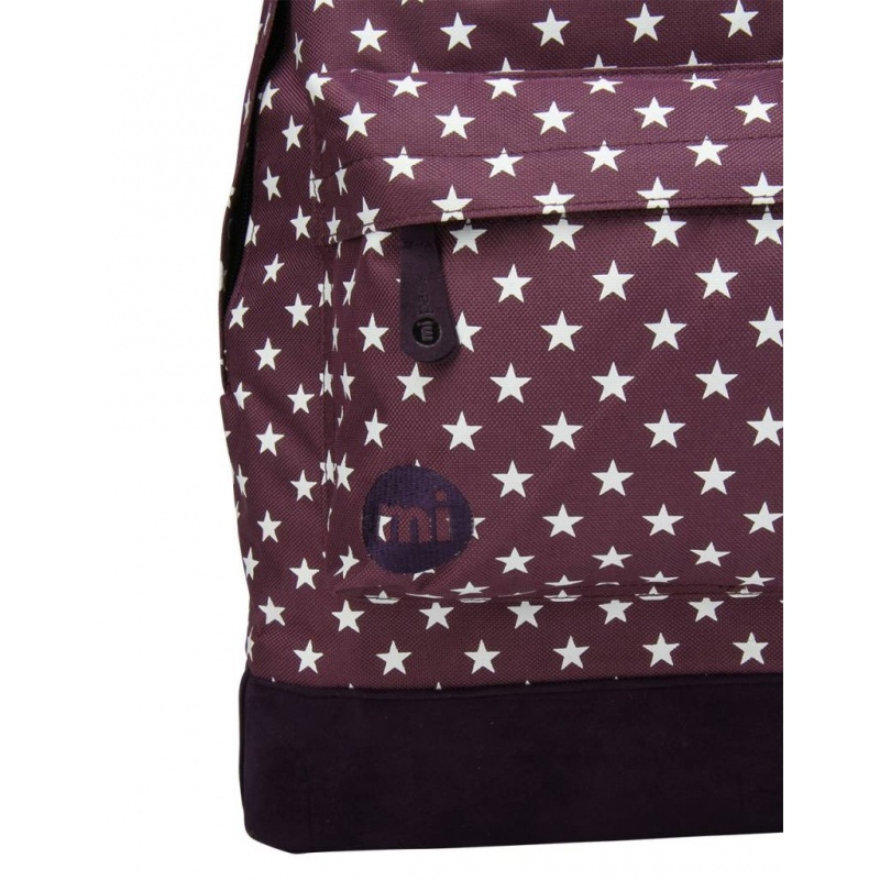 Mi Pac Rugzak All Stars Plum