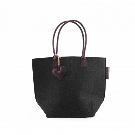 ZebraTrends Natural Bag Vilt Grey (B)
