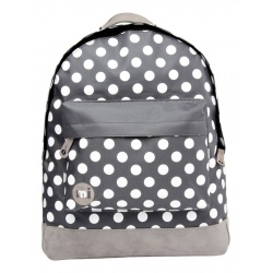 Mi-Pac Rugzak All Polka Charcoal / White