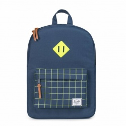 Herschel Heritage Youth rugzak Navy Grid