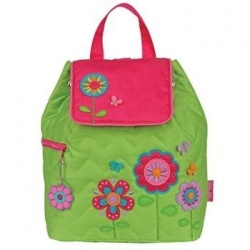 Stephen Joseph Flower Power kinderrugzak Quilted