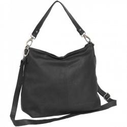 Chesterfield Handmade Leren tas zwart 'Channing'