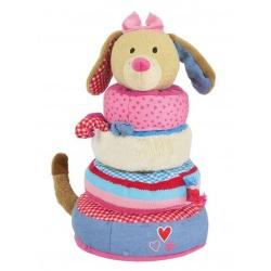 Lief! stapeltoren hond roze