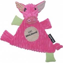 Deglingos Baby knuffel dou dou Varken 'Jambonos the pig'