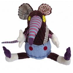 Deglingos Original Knuffel Rat 'Ratos the Rat'