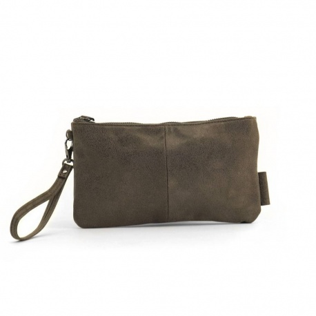 ZebraTrends Natural bag Yasmine Clutch bruin
