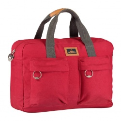Nomad Canvas Bowler Laptoptas Rood