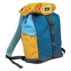 Nomad Polyester Backpack L Blauw/Geel/Grijs