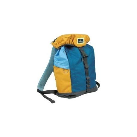 Nomad Polyester Backpack L Blauw/Geel/Grijs