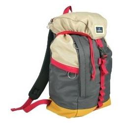 Nomad Polyester Backpack L Grijs/Rood/Beige