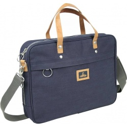 Nomad Canvas Laptoptas Blauw