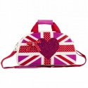 ZebraTrends Bowlingbag UK Glitter Pink