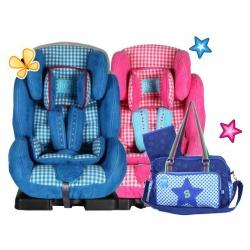 Lief! 2 x autostoel + gratis Limited Edition Luiertas