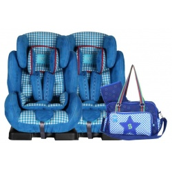 Lief! 2 x autostoel Casper + gratis Limited Edition Luiertas