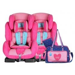 Lief! 2 x autostoel Cato + gratis Limited Edition Luiertas