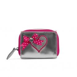 ZebraTrends Wallet S Pink Sterretjes
