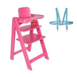 Lief! Kinderstoel Hanna + gratis tuigje twv 19,95