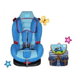 Lief! Autostoel Simon + gratis lief Rugzak