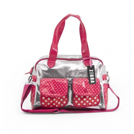 ZebraTrends Luxe shopper Girly Pink