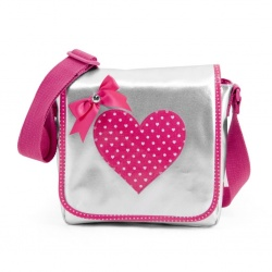 ZebraTrends Girly zilver Kindertasje
