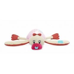 Lief! Knuffel eend roze