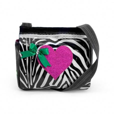 ZebraTrends Kindertas Hart roze