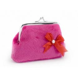 ZebraTrends Pink Flower Portemonnee Teddy