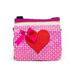 ZebraTrends Pink Flower hart