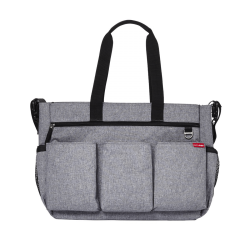 Skip Hop Duo Double Signature Deluxe Heather Grey