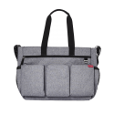 Skip Hop Luiertas Duo Double Signature Deluxe Heather Grey