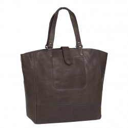 Leren Shopper Bruin Oldham XL