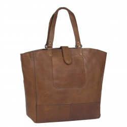 Leren Shopper Cognac Oldham XL