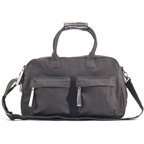 ZebraTrends Natural Bag Shopper Black