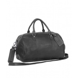 Chesterfield Leren Weekendtas Zwart William