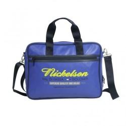 Nickelson Vigo di Fassa Laptopbag - blauw