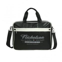 Nickelson Vigo di Fassa Laptopbag - zwart