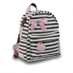 ZebraTrends Rugzak S Stripes Pink