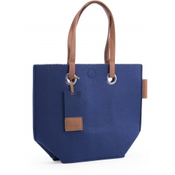 ZebraTrends Natural Bag Vilt Navy