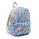 ZebraTrends Rugzak M Dots Light Blue