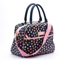 ZebraTrends KidsBag luxe Dots Navy