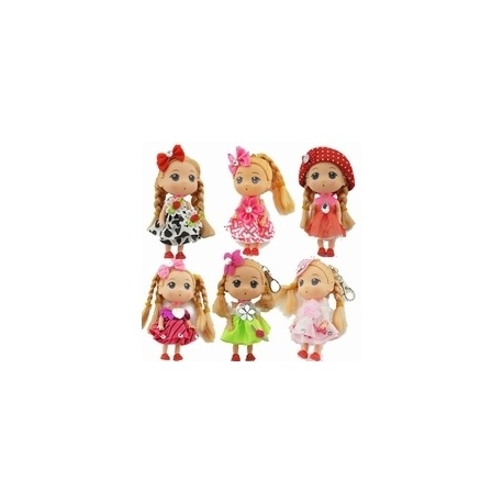 ZebraTrends sleutelhanger Doll medium