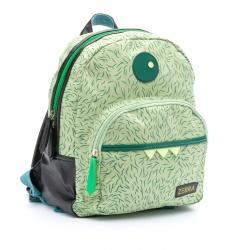 ZebraTrends Rugzak Boys Monster Groen